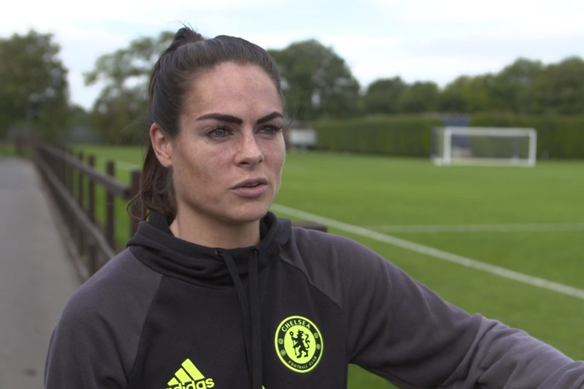 Chelsea Ladies Football Club player Claire Rafferty.